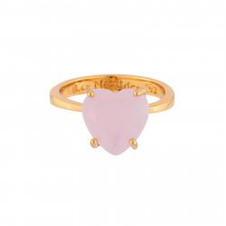 Bague Solitaire Bague Solitaire Pierre Cœur La Diamantine Rose50,00€ ULD617/2Les Néréides
