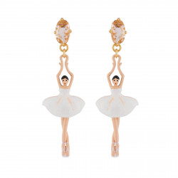 White Earrings With...