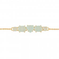 Bracelets Fins Bracelet Fin 5 Pierres La Diamantine Vert D'eau80,00€ XLD214/1Les Néréides