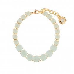 Bracelets Fins Bracelet Luxe Un Rang La Diamantine Vert D'eau130,00€ XLD252/1Les Néréides
