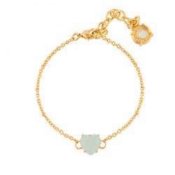 Bracelets Fins Bracelet Fin Pierre Cœur La Diamantine Vert D'eau50,00€ XLD253/1Les Néréides