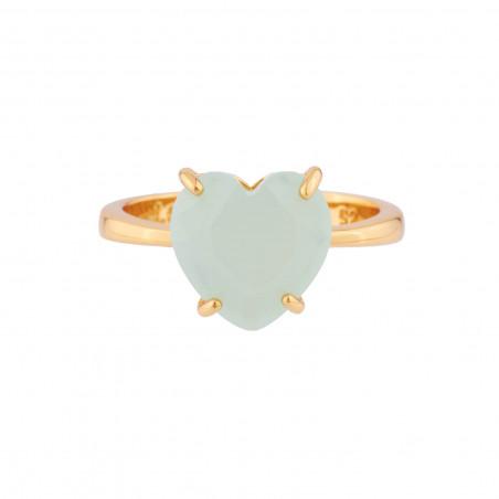 Rose and rosebud ajustable ring