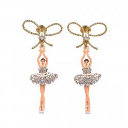 Boucles D'oreilles Clip Boucles d'oreilles clips danseuses étoiles cristal110,00€ ZDDL108C/3Les Néréides