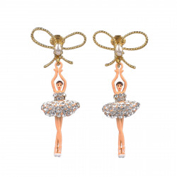 Clip on earrings with...