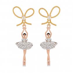 Boucles D'oreilles Pendantes Boucles D'oreille Danseuses Étoiles Cristal110,00€ ZDDL108T/3Les Néréides