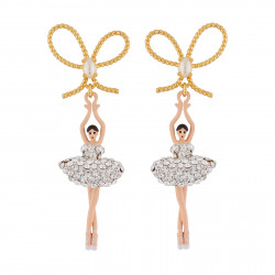 Earrings With Crystal Star...