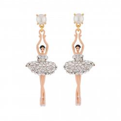Boucles D'oreilles Pendantes Boucles d'oreille ballerines sur pointe cristal110,00€ ZDDL115T/3Les Néréides