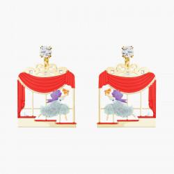 Boucles D'oreilles Originales Boucles d'oreilles clip cendrillon et cristal taillé80,00€ AOCE102C/1N2 by Les Néréides