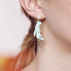 Boucles D'oreilles Originales Boucles d'oreilles clip perle, soulier, oiseau, bouton, ciseau, perles et souris80,00€ AOCE106...