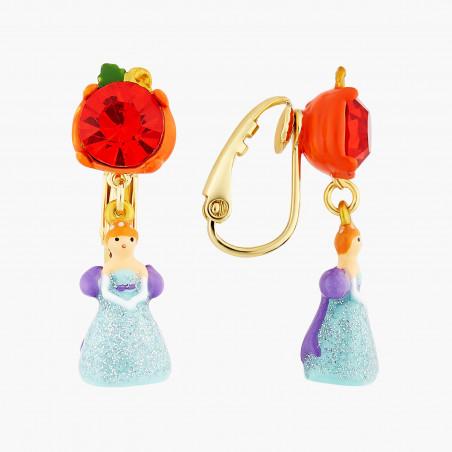 Bracelet mini ballerine en tutu bleu