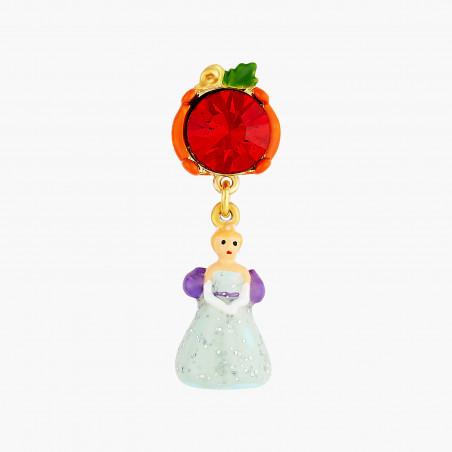 Bracelet mini ballerine en tutu rouge