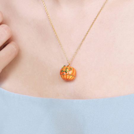 Toe-dancing ballerina paved with orange matt crystals clip earrings