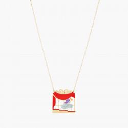 Colliers Originaux Collier pendentif cendrillon, soulier et cristaux taillés75,00€ AOCE304/1N2 by Les Néréides