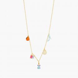 Colliers Originaux Collier pendentif citrouille, souris et bobine de fil, cendrillon, horloge et soulier80,00€ AOCE310/1N2 b...