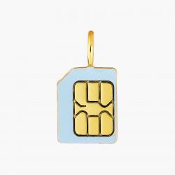 Bijoux Charm's carte sim20,00€ AOCH401/1N2 by Les Néréides
