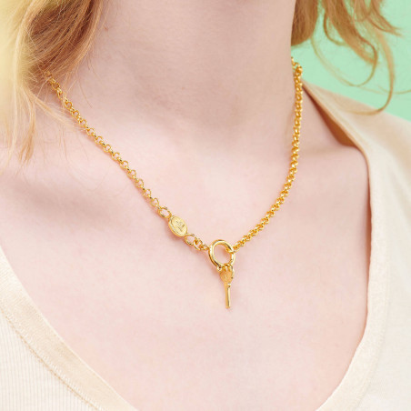 Necklace 55cm PAS DE DEUX NUDE PINK