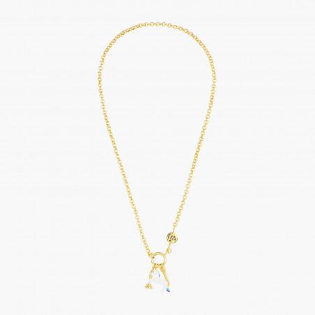 Necklace 80cm PAS DE DEUX NUDE PINK