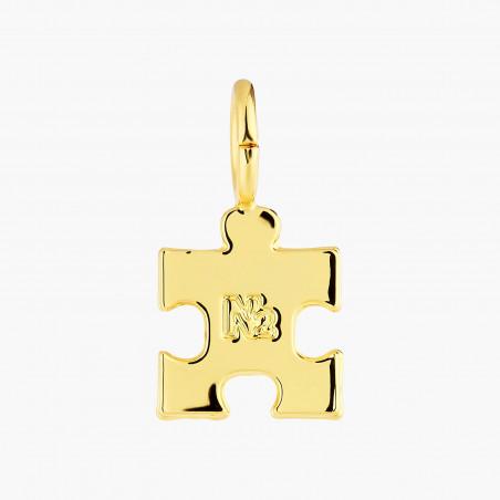 Necklace 55cm PAS DE DEUX LUXE rhinestones COPPER