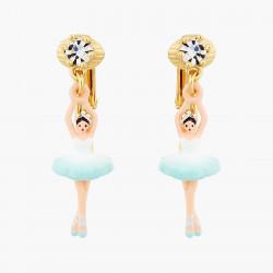 Boucles D'oreilles Pendantes Boucles d'oreilles clip ballerine et cristal taillé70,00€ AOCN103C/1Les Néréides