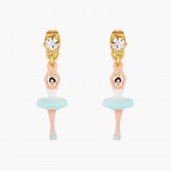 Boucles D'oreilles Pendantes Boucles d'oreilles tiges ballerine et cristal taillé70,00€ AOCN103T/1Les Néréides