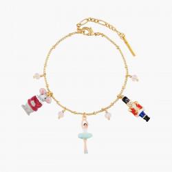 Bracelets Charms Bracelet charm's roi des souris, ballerine et casse-noisette130,00€ AOCN201/1Les Néréides