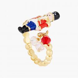 Bagues Ajustables Bague ajustable casse-noisette et perles facettées60,00€ AOCN601/1Les Néréides