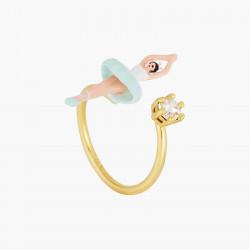 Ballerina adjustable ring