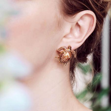 Post earrings LOVE ME