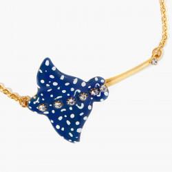 Bracelets Fins Bracelet Fin Raie Aigle Bleu Constellée140,00€ AOGL204/1Les Néréides