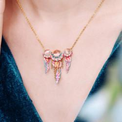 Colliers Plastrons Collier pendentif trio de méduses roses et bleues220,00€ AOGL306/1Les Néréides