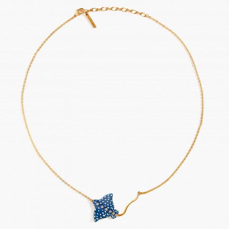"""Boucles d'oreilles feuille de palmier sur pierre et symbole """"Love"""""""