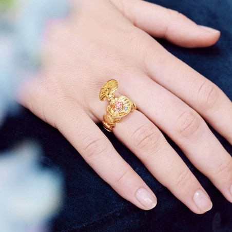 Adjustable ring OBSCURITE OSTENTATOIRE