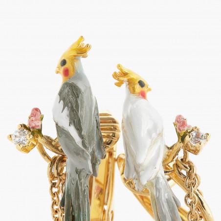 Post earrings OBSCURITE OSTENTATOIRE