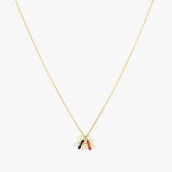 Duo of Ants pendant necklace