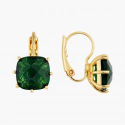 Boucles D'oreilles Dormeuses Boucles d'oreilles dormeuses pierre carrée la diamantine vert émeraude50,00€ AOLD101D/1Les Néré...