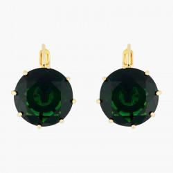 Emerald Green Round Stone...