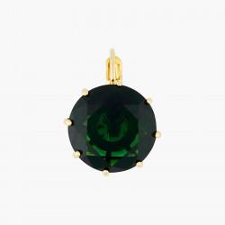 Boucles D'oreilles Dormeuses Boucles d'oreilles dormeuses pierre ronde la diamantine vert émeraude60,00€ AOLD140D/1Les Néréides