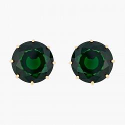 Boucles D'oreilles Tiges Boucles d'oreilles tiges pierre ronde la diamantine vert émeraude60,00€ AOLD140T/1Les Néréides