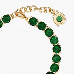 Bracelets Fins Bracelet luxe un rang la diamantine vert émeraude130,00€ AOLD252/1Les Néréides