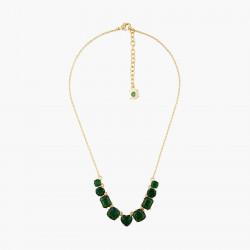 Colliers Fins Collier fin 9 pierres la diamantine vert émeraude120,00€ AOLD318/1Les Néréides