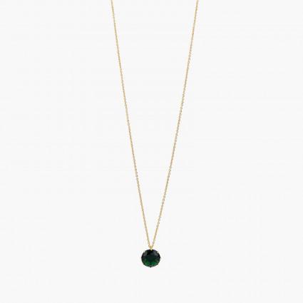 Colliers Sautoirs Collier sautoir pierre ronde la diamantine vert émeraude60,00€ AOLD333/1Les Néréides