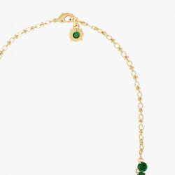Colliers Sautoirs Collier sautoir luxe pierres rondes la diamantine vert émeraude350,00€ AOLD351/1Les Néréides