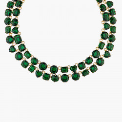 Emerald Green Two Row...