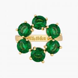 Bagues Fines Bague fine 6 pierres la diamantine vert émeraude70,00€ AOLD619/1Les Néréides