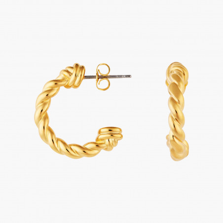 3 Opal white stones earrings