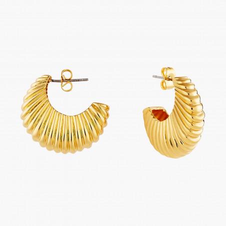 2 Opal white round stones earrings