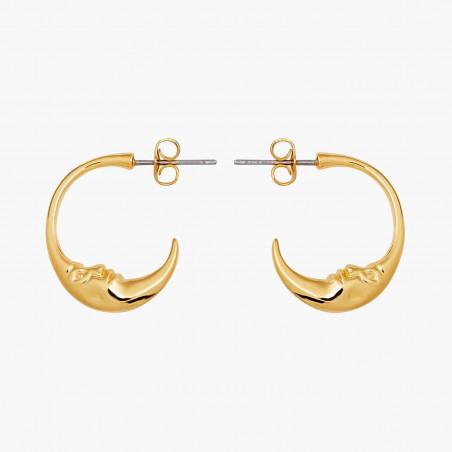 2 Smoky quartz round stones earrings