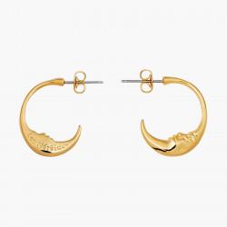 2 Smoky quartz square stones clip earrings