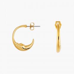 Boucles D'oreilles Creoles Boucles d'oreilles demi-lune visage70,00€ AOMI103T/1Les Néréides