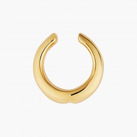 6 Opal white stones little hoops